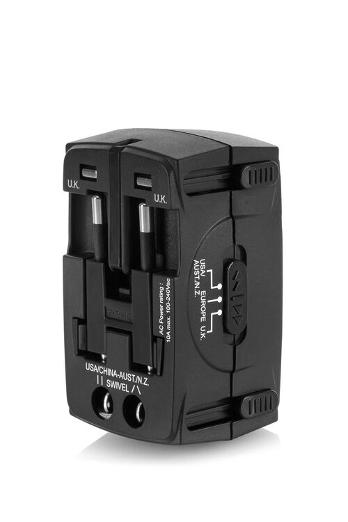 AT ACCESSORIES UNIVERSAL TRAVEL ADAPTER  hi-res | American Tourister