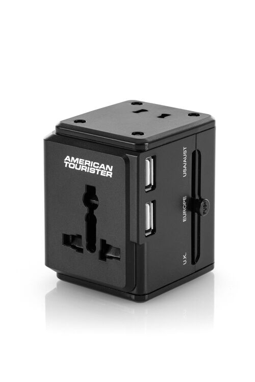 AT ACCESSORIES UNI TRAVEL ADAPTER 3 USB  hi-res   American Tourister